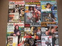 25 Issues of Guitar Techniques Magazine