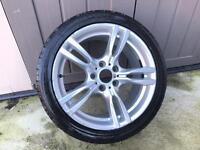 """Bmw m sport alloy wheels f30 3 series 400m 18"""""""