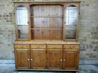 Beautiful Ducal antique pine weksh dresser