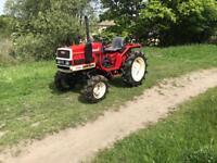 Yanmar 17d compact tractor 4x4