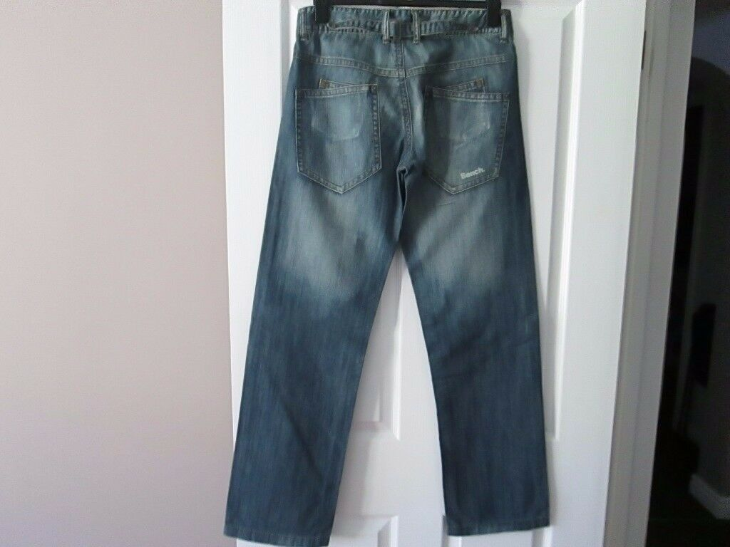 Brand New With Tags Bench Aldersgate Jeans 32 waist, 34 leg