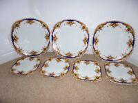 Taylor & Kent vintage bone china plates