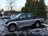 mitsubishi L200 2.5 diesel double cab 4x4 pickup