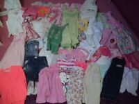GIRLS SUMMER CLOTHES AGED 3-4 YRS