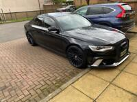 Audi 2.0tdi sline black edition with RS6 bumpers