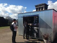 Barista for MILK at Collective Coffee Shack on top of Calton Hill