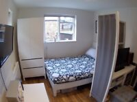 ALMOST BRAND NEW GARDEN STUDIO FLAT FOR RENT IN SHEPHERDS BUSH, **BILLS INCLUDED**, 5 MINS TO TUBES