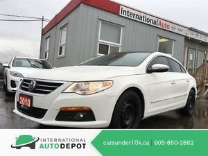 2010 Volkswagen PASSAT CC SPORTLINE / LEATHER / MOONROOF / SNOW