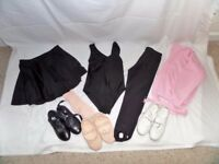 "Girls ""STEPS"" dance clothing and shoes"