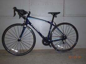 2017 Trek Silque woman's carbon road bicycle 52 cm frame