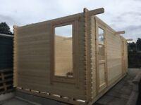 Log Cabin - Brand New - 20ft x 10ft (44mm)