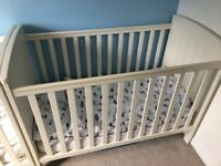 "Mamas and Papas ""Mia Classic"" cots - 2 for sale but will split."