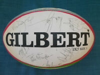 Genuine Signed Rugby Ball