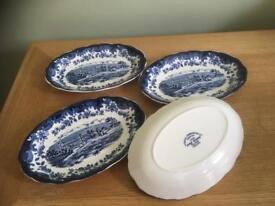 Royal Worcester Bon Bon Dishes