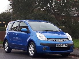 Nissan Note 1.4 16v SE 5dr£,LONG MOT,LOW TAX,LOW INSURANCE 2006 (06 reg),