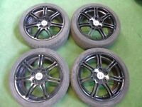 "HONDA CIVIC TYPE R S, ACCORD, CR-V, FR-V, S2000, STREAM 17"" ALLOY WHEELS"