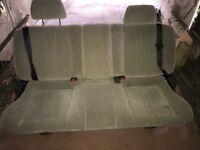 Mercedes Vito rear bench seat