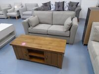 Brand New Grey 2 Seater Sofa Is £275, Retails At £599. Half Price. Can Deliver