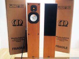 Monitor Audio Studio 20SE Floorstanding Speakers - Cherry Finish - With Original Boxes