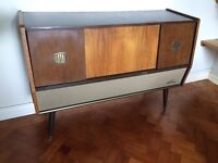 Kongo Cabinet Valve Radio Stereo and record Player