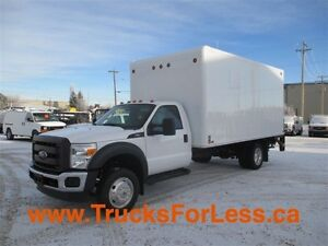 2013 ford F-550, 16 Ft VAN + PWR TAILGATE!!!