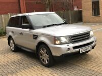 LAND ROVER RANGE ROVER SPORT 2.7 TDV6 HSE DIESEL AUTOMATIC SILVER TOP SPEC N X5 VOGUE DISCOVERY ML