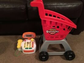 Shopping till and trolley - Smyths