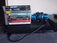 Ps3 superslim 12gb 8 games
