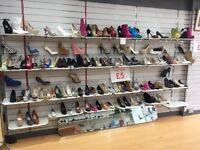 STOCK CLEARANCE SHOP CLOSING DOWN SALE LADIES SHOES FOOTWEAR