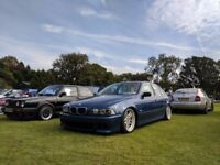 BMW E39 530D Manual Topaz Blue