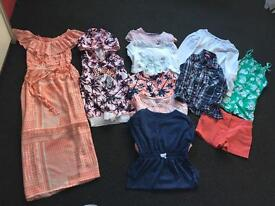 Girls bundle of clothes age 6-7