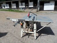 Axminster JTS 315 site saw
