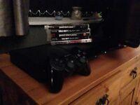 500gb super slim PS3 5 games