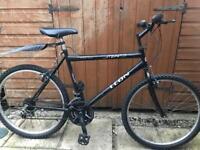 "Adults stealth mountain bike. 20"" large frame. 26"" Wheels. Fully Working"