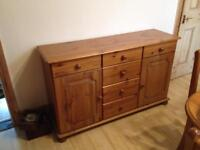 Pine sideboard / dresser