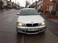 BMW 120i M Sport, 170 Bhp, Engine runs fine, Full leather interior