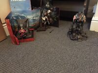 Collectable figures from games, gears of war, far cry , assassins creed