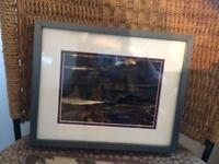 Custom framed