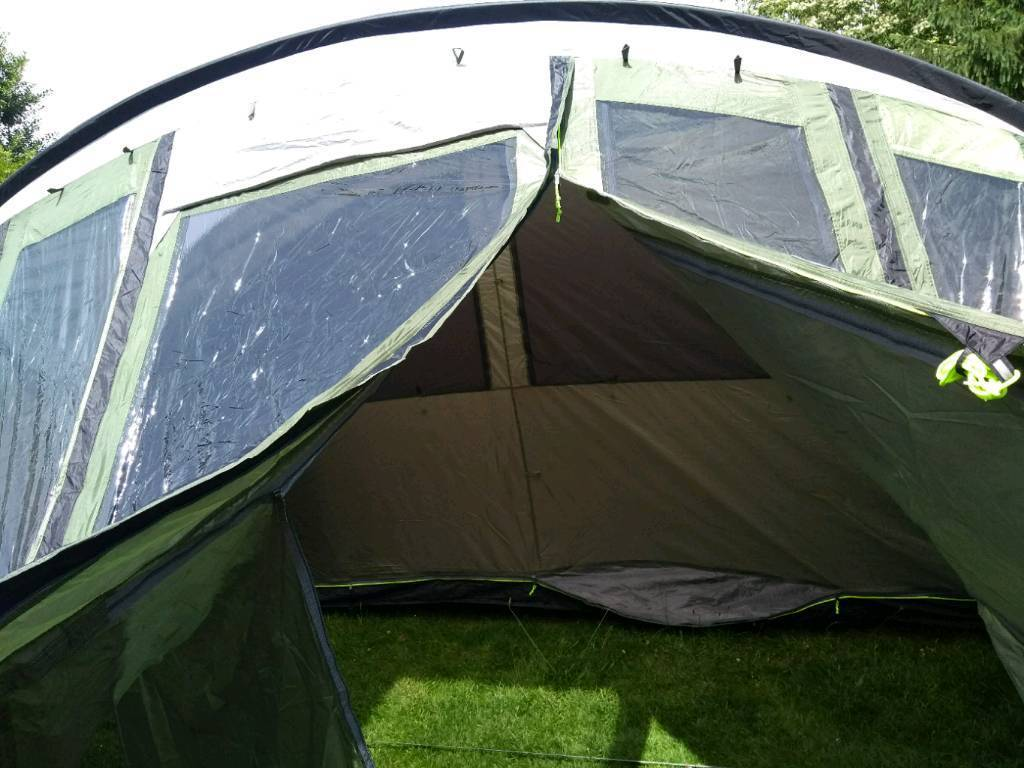 Outwell Vermont XLP 7 person tentin Worcester, Worcestershire - This premium tent has only been used twice since new and is in fantastic condition. It is very spacious and provides a pleasant environment for camping holidays. Selling due to family growing up