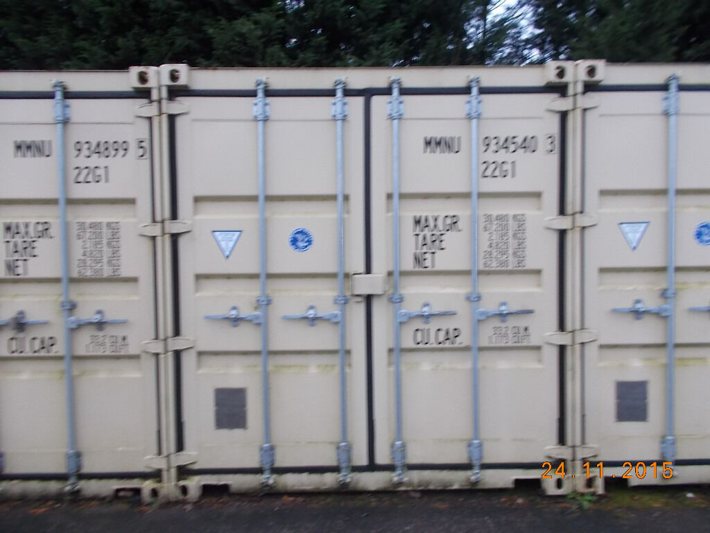 20ft x 8ft Onsite Anti Vandal Storage Containers For Hire