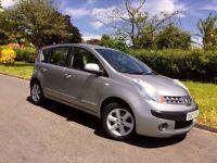 2007 Nissan Note 1.4 16v SE 5dr FAMILY HATCHBACK