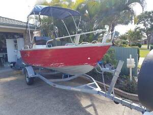 Stacer 14FT Side Console 40HP Suzuki Motor Banora Point Tweed Heads Area Preview
