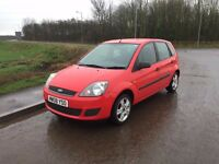 Ford fiesta style 2008 1.2 low mileage 12 month mot mint