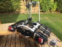 Thule EuroWay G2 923 Car Towbar Cycle Carrier / Bike Rack for up to three bikes
