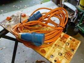 hook up cable for caravan/motorhome .