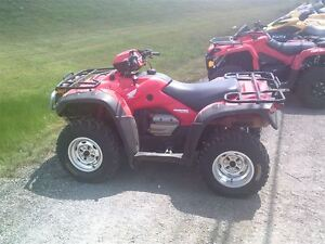 2006 Honda TRX500 Rubicon Canadian Trail Edition -