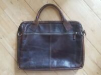 Amsterdam Cowboys Bag Brown Laptop Case