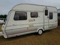 1993 abbey piper 5 berth caravan in good condition