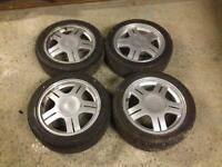 Ford Rs alloys with tyres escort fiesta Sierra Orion rs2000 xr3i xr3 rs turbo
