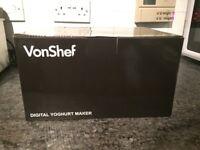 Digital Yoghurt maker .. brand new in box
